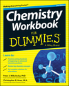 Chemistry Workbook For Dummies, 2nd Edition (1118940040) cover image