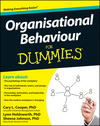 Organisational Behaviour For Dummies (1119951240) cover image
