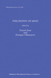 Philosophy of Mind, Volume 20 (1444339540) cover image