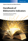 Handbook of Bibliometric Indicators: Quantitative Tools for Studying and Evaluating Research (3527337040) cover image