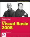 Beginning Microsoft Visual Basic 2008 (0470191341) cover image