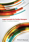 Legal Concepts for Facility Managers (0470674741) cover image