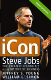 iCon Steve Jobs: The Greatest Second Act in the History of Business (0471787841) cover image