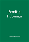 Reading Habermas (0631152741) cover image