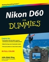 Nikon D60 For Dummies (1118052641) cover image