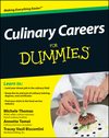 Culinary Careers For Dummies (1118077741) cover image