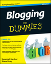 Blogging For Dummies, 4th Edition (1118151941) cover image