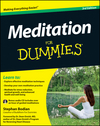 Meditation For Dummies, with Audio CD, 3rd Edition (1118291441) cover image