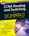 1,001 CCNA Routing and Switching Practice Questions For Dummies (+ Free Online Practice) (1118794141) cover image