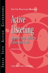Active Listening: Improve Your Ability to Listen and Lead (1882197941) cover image