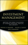 Investment Management: Meeting the Noble Challenges of Funding Pensions, Deficits, and Growth (0470455942) cover image