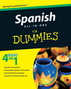 Spanish All-in-One For Dummies (0470462442) cover image
