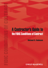 A Contractor's Guide to the FIDIC Conditions of Contract (0470657642) cover image