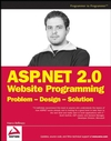 ASP.NET 2.0 Website Programming: Problem - Design - Solution (0764584642) cover image