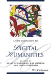 A New Companion to Digital Humanities, 2nd Edition (1118680642) cover image