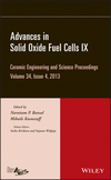 Advances in Solid Oxide Fuel Cells IX: Ceramic Engineering and Science Proceedings, Volume 34, Issue 4 (1118807642) cover image