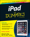 iPad For Dummies, 7th Edition (1118932242) cover image