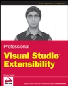 Professional Visual Studio Extensibility (0470230843) cover image