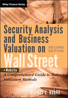 Security Analysis and Business Valuation on Wall Street: A Comprehensive Guide to Today's Valuation Methods, + Companion Web Site, 2nd Edition (0470277343) cover image