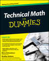 Technical Math For Dummies (0470598743) cover image