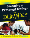 Becoming a Personal Trainer For Dummies (0764556843) cover image