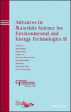 Advances in Materials Science for Environmental and Energy Technologies II (1118751043) cover image