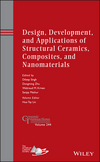 Design, Development, and Applications of Structural Ceramics, Composites, and Nanomaterials: Ceramic Transactions, Volume 244 (1118770943) cover image
