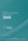The Year in Evolutionary Biology 2009, Volume 1168 (1573317543) cover image