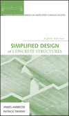 Simplified Design of Concrete Structures, 8th Edition (0470044144) cover image