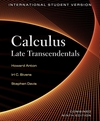 Calculus: Late Transcendentals Combined, 9E International Student Version
