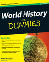 World History For Dummies, 2nd Edition (0470446544) cover image