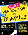 More Windows 98 For Dummies (0764502344) cover image