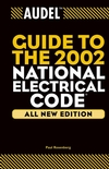 Audel Guide to the 2002 National Electrical Code, All New Edition (0764542044) cover image