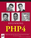 Beginning PHP4 (0764543644) cover image