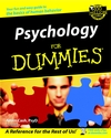 Psychology For Dummies (0764554344) cover image