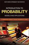 Introduction to Probability: Models and Applications (1118123344) cover image