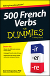 500 French Verbs For Dummies (1118612744) cover image
