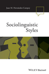 Sociolinguistic Styles (1118737644) cover image