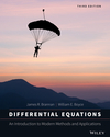 Differential Equations: An Introduction to Modern Methods and Applications, 3rd Edition (EHEP003244) cover image
