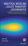thumbnail image: Analytical Modeling of Solute Transport in Groundwater Using Models to Understand the Effect of Natural Processes on Contaminant Fate and Transport