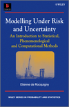 thumbnail image: Modelling Under Risk and Uncertainty: An Introduction to Statistical, Phenomenological and Computational Methods