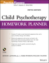 Child Psychotherapy Homework Planner, 5th Edition (1118076745) cover image