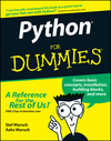 Python For Dummies (1118084845) cover image