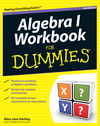 Algebra I Workbook For Dummies, 2nd Edition (1118102045) cover image