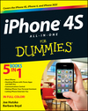 iPhone 4S All-in-One For Dummies (1118237145) cover image