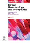 Lecture Notes: Clinical Pharmacology and Therapeutics, 8th Edition (1118297245) cover image