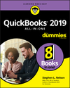 QuickBooks 2019 All-in-One For Dummies (1119523745) cover image