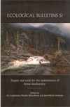 Ecological Bulletins, Bulletin 51, Targets and Tools for the Maintenance of Forest Biodiversity (1405117745) cover image