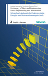 Dictionary of Electrical Engineering, Power Engineering and Automation / Wörterbuch Elektrotechnik, Energie- und Automatisierungstechnik (3895783145) cover image