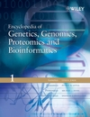 Encyclopedia of Genetics, Genomics, Proteomics and Bioinformatics (0470849746) cover image